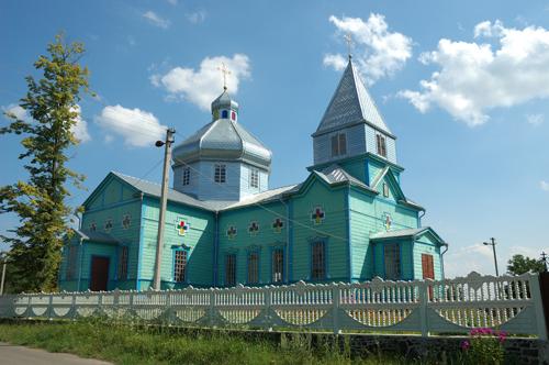 Ukrainische Dorfkirche