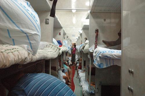 Nachtzug von Simferopol nach Kiev